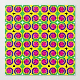 Swirly Pattern 1 Canvas Print