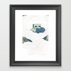 Riots Framed Art Print