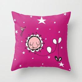Baby flower Throw Pillow