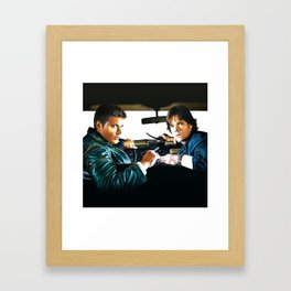 Sam and Dean Supernatural Framed Art Print