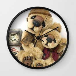 Theodore & Barnabe Wall Clock