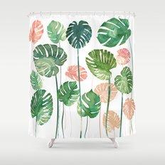 TROPICAL CREATION Shower Curtain