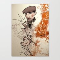 irish Canvas Prints featuring Irish by shugmonkey