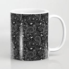 PAISLEY ART IN BLACK AND WHITE Coffee Mug