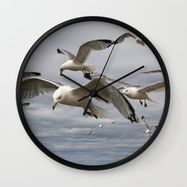 Scavengers on the prowl Wall Clock