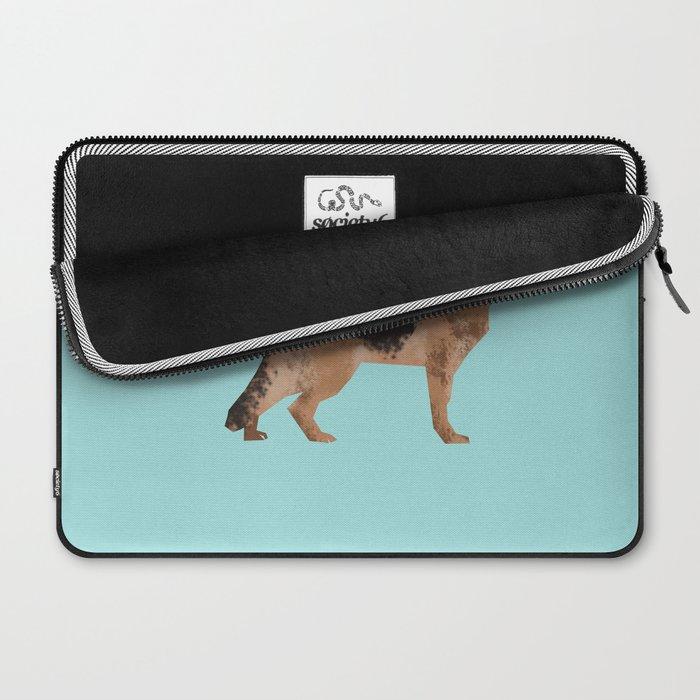 german shepherd funny farting dog breed gifts Laptop Sleeve