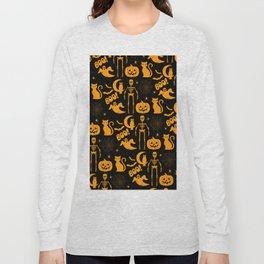 C13D Halloween Pattern Long Sleeve T-shirt