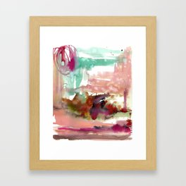 Neringa coast Framed Art Print