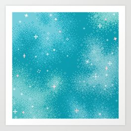 Winter Nebula Art Print