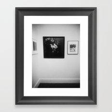 Secluded Kiss Framed Art Print
