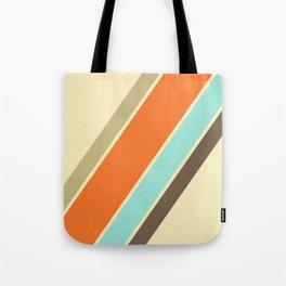 Retro Stripes Tote Bag