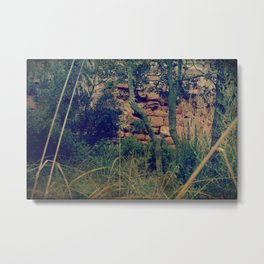 Would you meet me there? Metal Print