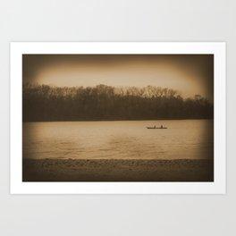 Voyage Charm Art Print