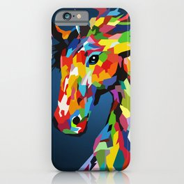 Super Horse iPhone Case