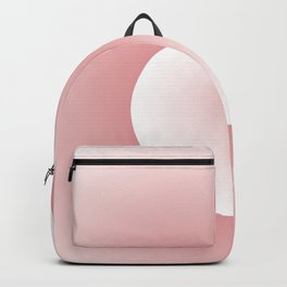 Wave, in white and pink Backpack