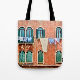 Dirty Laundry in Venice Tote Bag