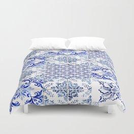 azulejos - Portuguese painted tiles Duvet Cover