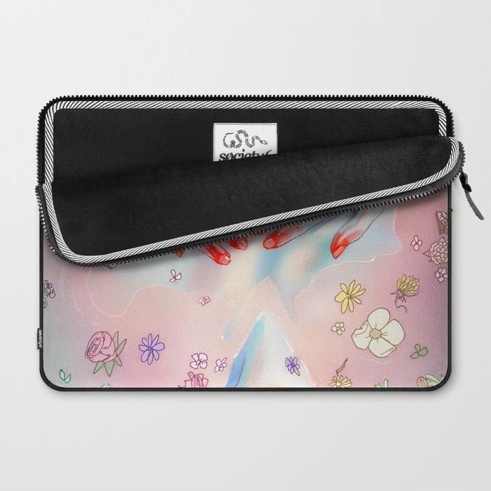 Flower Bath 5 Laptop Sleeve