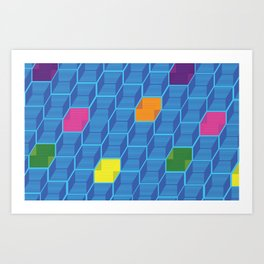What's in the Box? Art Print