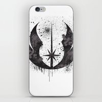 jedi iPhone & iPod Skins featuring Jedi mark by Ainy A.