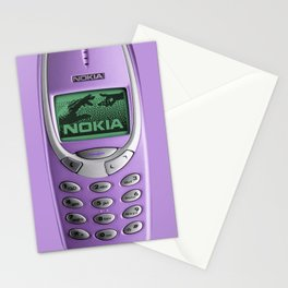 OLD NOKIA Purple Stationery Cards