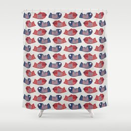 Taiyaki(たい焼き) Shower Curtain