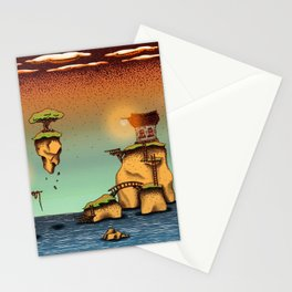 The little islands Stationery Cards