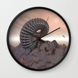 Creature of The Mountain Wall Clock