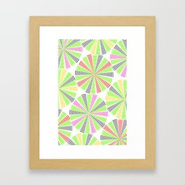 STRIPE DARTBOARDS  Framed Art Print