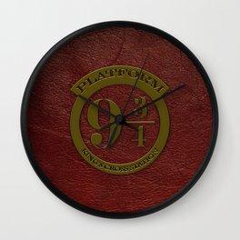 Logo Platform 9 3/4 Wall Clock