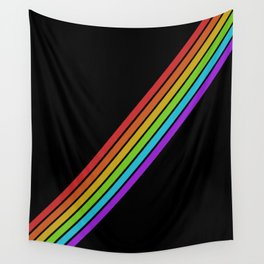 Rainbow Lane Wall Tapestry