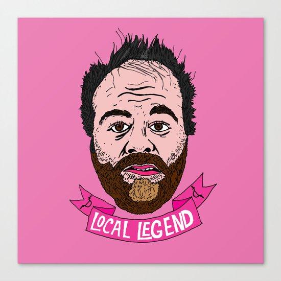 Local Legend Canvas Print