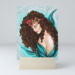 Sea Goddess 2 Mini Art Print