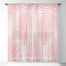 Desert Palms Sheer Curtain
