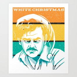 Funny design retro Pablo-christmasdesign Art Print