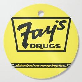 Fay's Drugs | the Immortal Yellow Bag Cutting Board