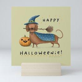 Happy Halloweenie! Mini Art Print