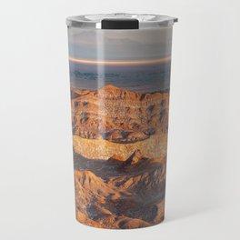 View of Sunset at Valle de la Luna Travel Mug