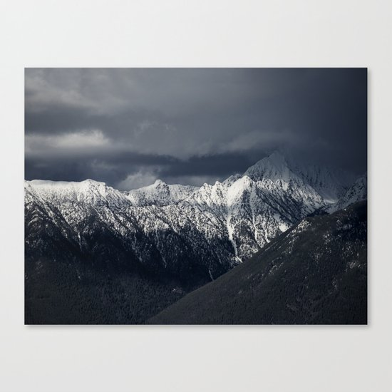 Light & Shade Canvas Print