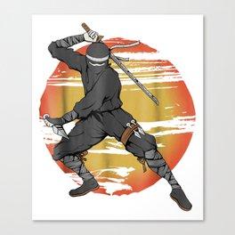 Japanese Ninja Canvas Print