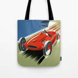 French Riviera 01 - Vintage Poster Tote Bag