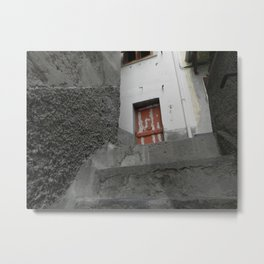 Upstairs and to the Left Metal Print