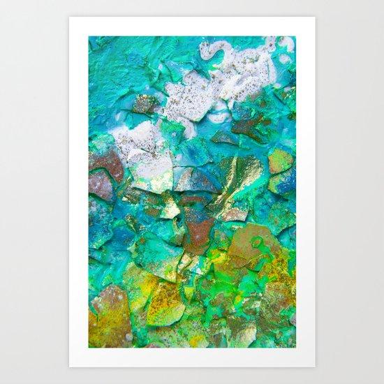ARREE VERDI Art Print