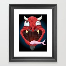kill me Framed Art Print