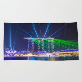 Marina Bay Sands Beach Towel