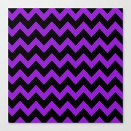 Purple Chevron Canvas Print