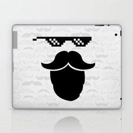 Thug Mustache Laptop & iPad Skin