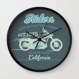 MotoBiKe RiDe 8 Wall Clock