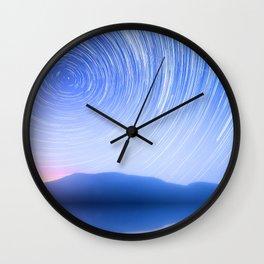 Hypnotize Sky Wall Clock