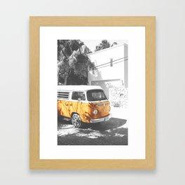 Summer Travel Combi Framed Art Print